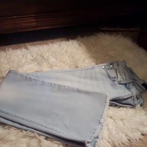 Crop stretch jeans